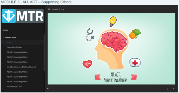 ALL ACT - Supporting Others