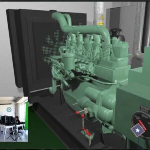 VR Game Based Learning – Emergency Diesel Generator